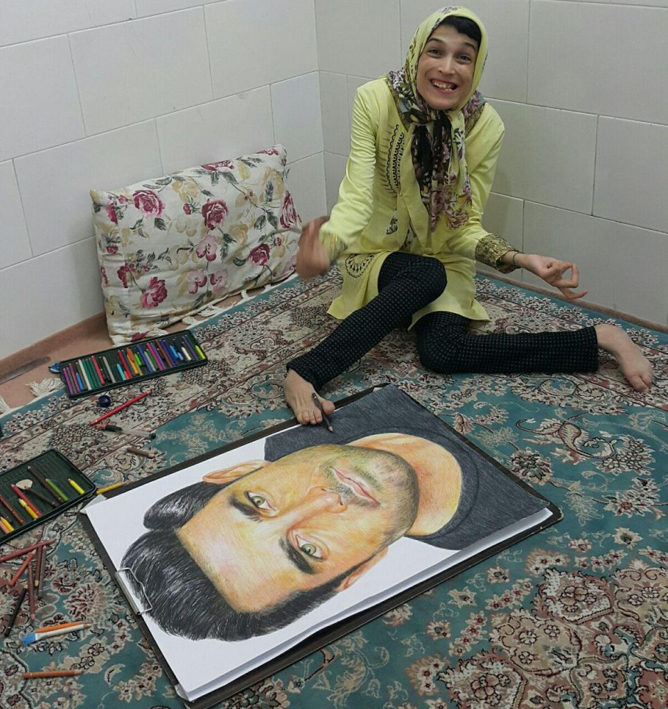 محمدرضا گلزار و فاطمه حمامی